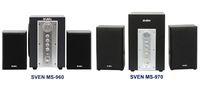 Классика в черном цвете:акустика SVEN MS-960 и MS-970
