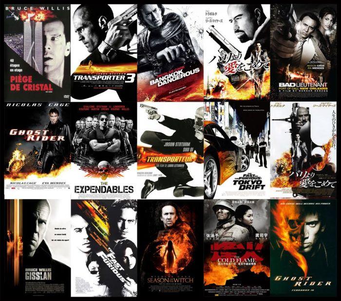 Фантазия у создателей кино-постеров