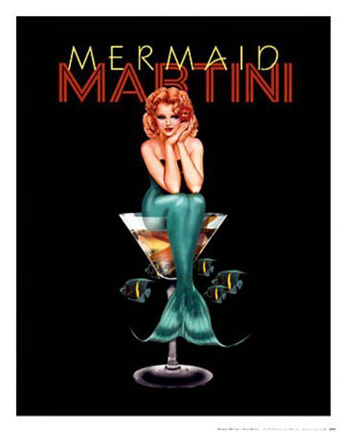 Кто любит мартини?