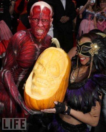 Хайди Клум и Хеллоуин