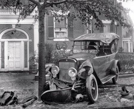 Автомобильные аварии начала 20го века
