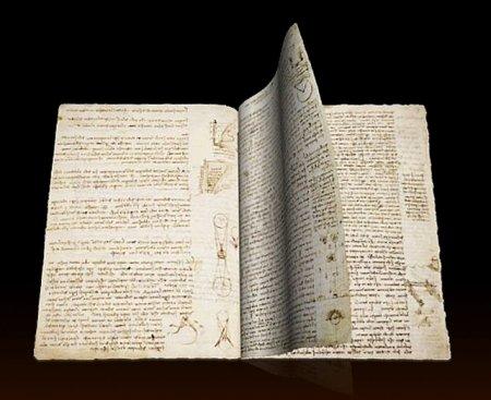 Рукописная книга Леонардо да Винчи стоит более $44 000 000