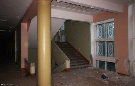Заброшенная гимназия Александра и Зои Космодемьянских