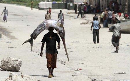 Сомалийские рыбаки