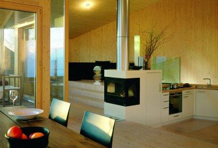 Haus Schudel – загородный дом в горной Швейцарии
