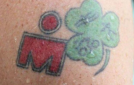 Железный человек на тату