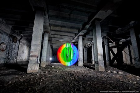 Фризлайт - замерший свет