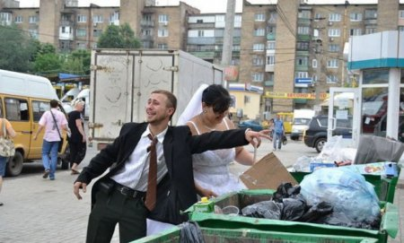 Свадебные фотографии - как это делают в Украине