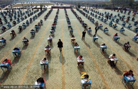 Борьба со списыванием в Китае