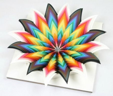 Бумажное искусство Jen Stark