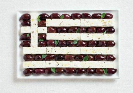 Флаги стран из еды этих стран