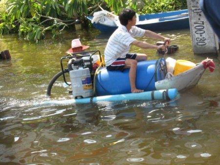 Тайцы и наводнение