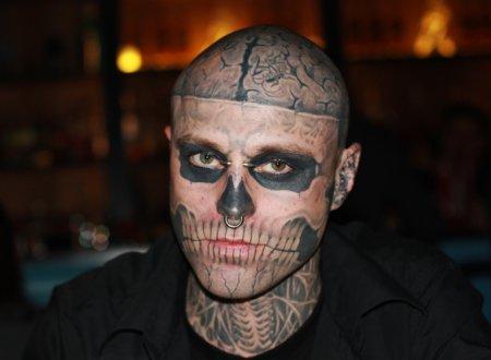 Интервью с Zombie Boy (Rick Genest)