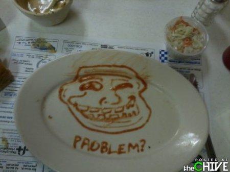 Не играй с едой!