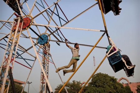Колесо обозрения в Индии