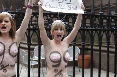 FEMEN открыли филиал в США