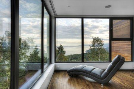 Les Terrasses Cap-á-l'aigle – жилой комплекс внедренный в природу