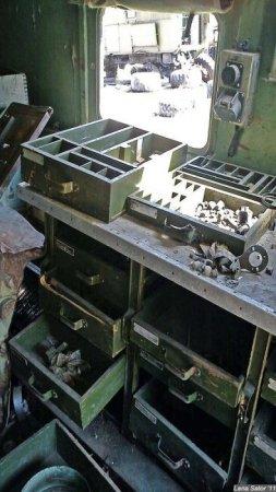 Кладбище военной техники под Москвой