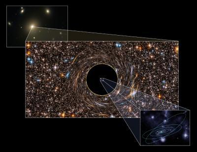 Ученые нашли две самые массивные во Вселенной черные дыры