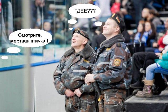 Наших спецназовцев отфотожабили