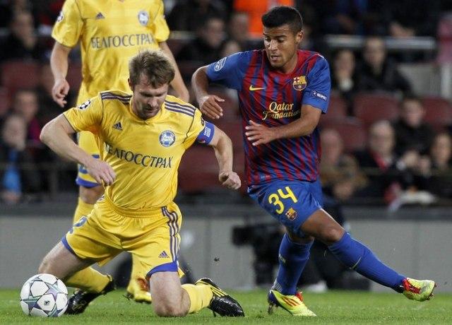 БАТЭ - Барселона отжабили!