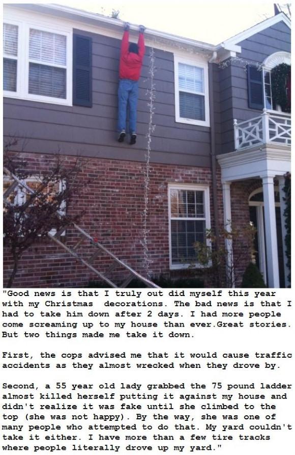 Грамотный рождественский пранк