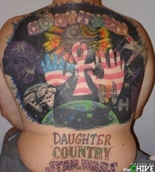 """Эти тату точно """"не как у всех""""!"""