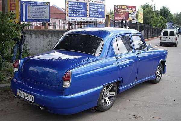 Лучшие тюнингованные старые ГАЗ-ы