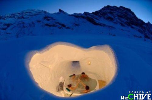 Снежные крепости