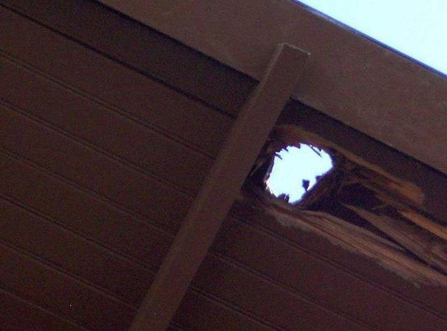 Фотоаппарат пробил крышу
