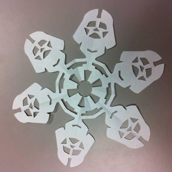 Делаем снежинки в стиле Star Wars!
