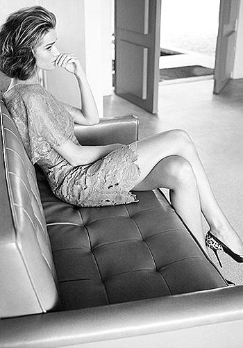 Путешествие во времени: Рози Хантингтон-Уайтли в ретро-образах