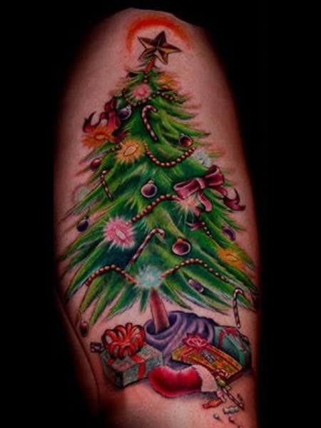 Рождественские тату