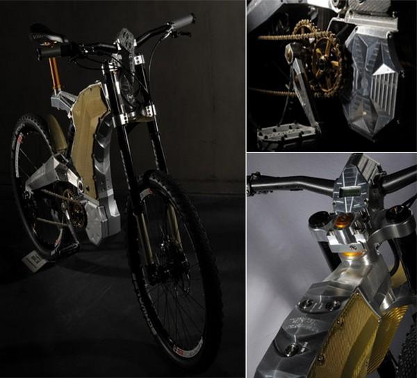 M55 e-bike Terminus Royal, специальная версия электровелосипеда