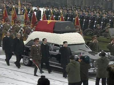 В КНДР проходят похороны Ким Чен Ира