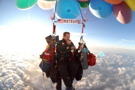 Каково это — перелететь через Ла-Манш на воздушных шариках