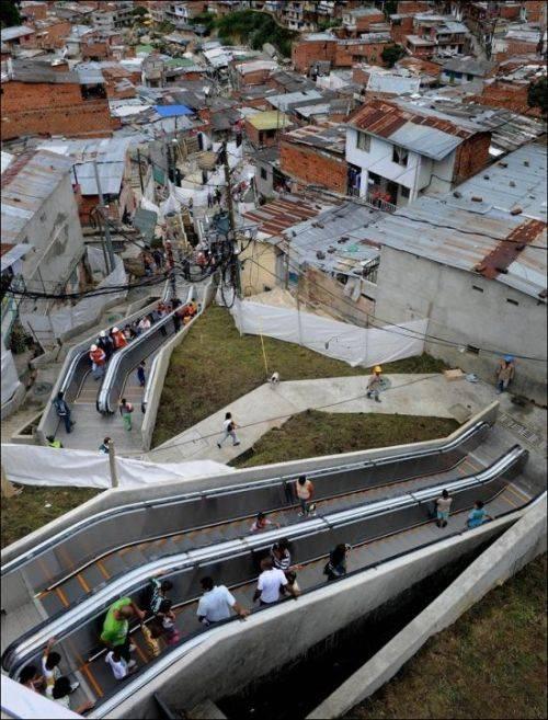 Комфортные колумбийские трущобы