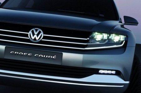 Концепт кроссовера СС от VW