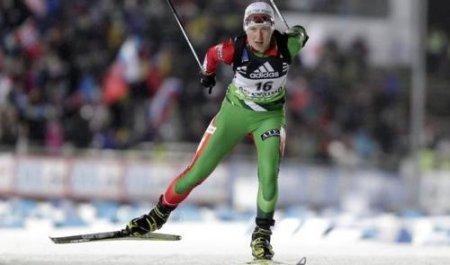 Дарья Домрачева выиграла индивидуальную гонку в Эстерсунде