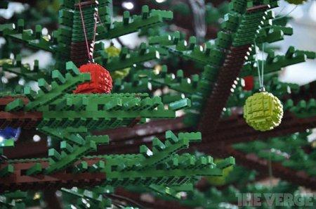 Елочка из Lego