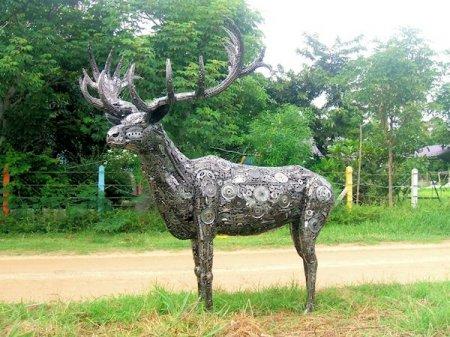 Металлические скульптуры - автор Tom Samui