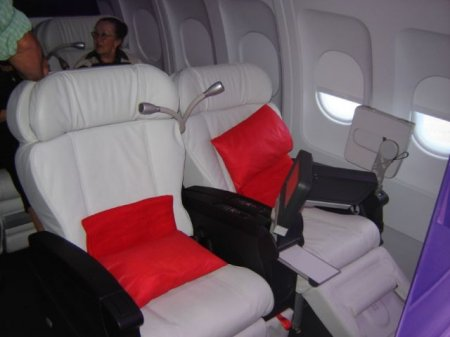 Летать с комфортом?