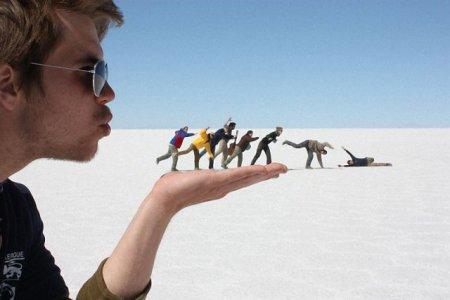 Оптические иллюзии на фото