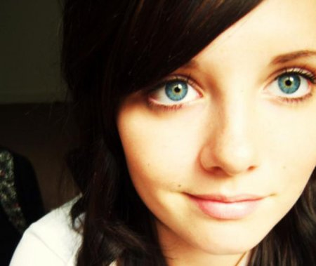 Красивые глаза красивых девушек