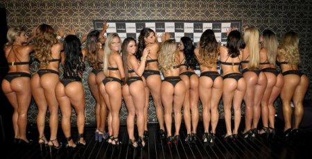 Выборы Miss Bumbum в Бразилии