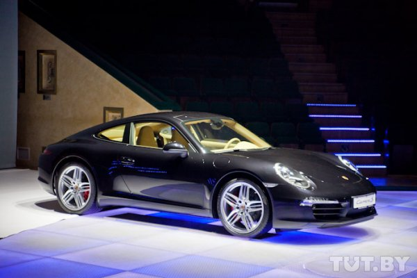 В Минске официально представлен новый Porsche 911