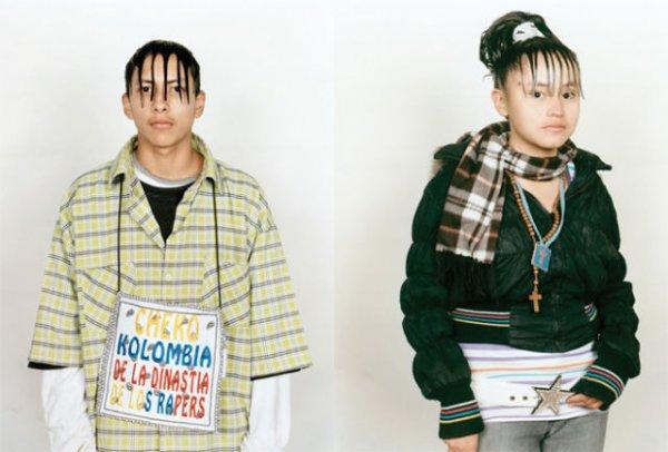 Прически Cholombians