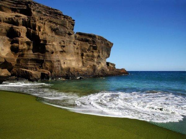 Пляж из кристаллов