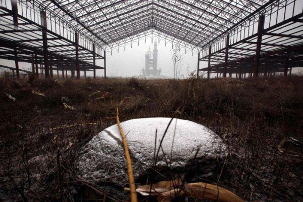 Заброшенный парк аттракционов в Китае