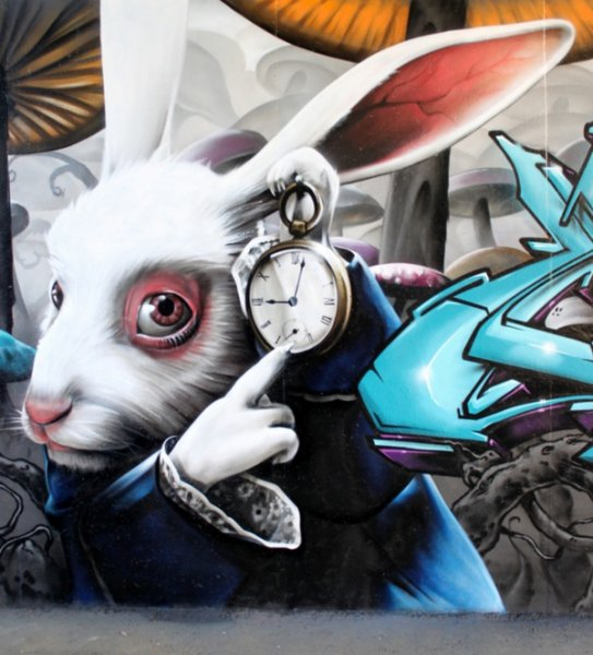 Настенная живопись от SmugOne